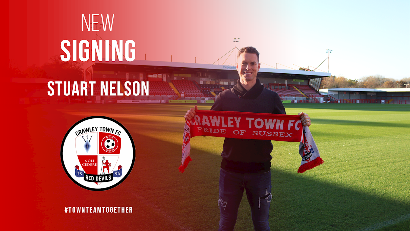 REDS SIGN GOALKEEPER NELSON - News - Crawley Town