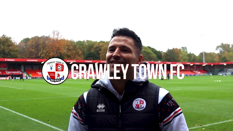 Update Mark Wright News Crawley Town